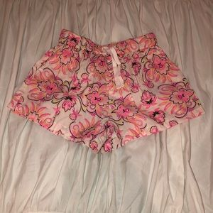 BabyGap Pink Floral Shorts Size 18-24 Months